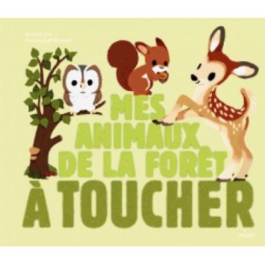 Livre mes animaux de la forêt à toucher