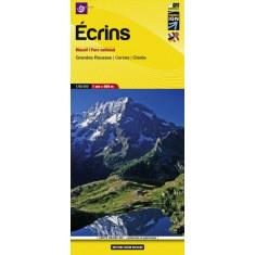 Carte randonnée et patrimoine Ecrins