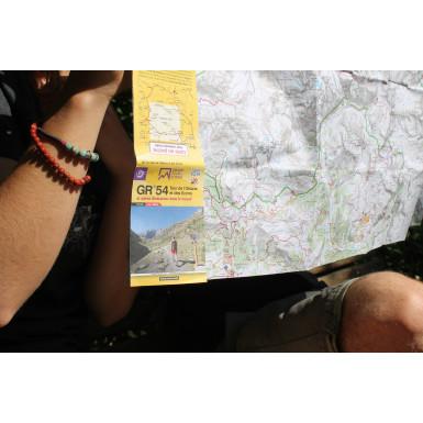 Carte en poche ECRINS GR54