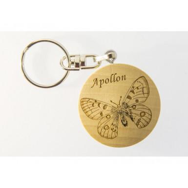 PORTE CLEF papillon Apollon