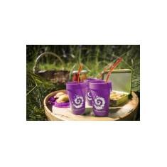 Gobelet plastique violet